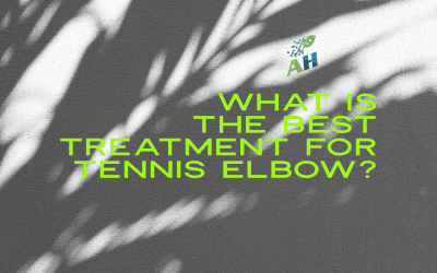 What is the Best Treatment for Tennis Elbow?